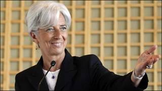 Bà Christine Lagarde