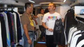 Salah satu distro di Bandung