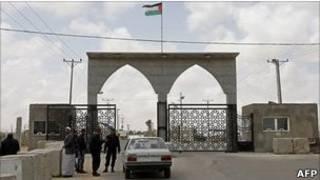بخش فلسطینی گذرگاه رفح به غزه