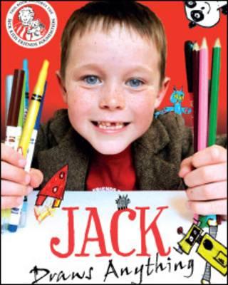 Capa do livro que será lançado pelo menino Jack (Foto: Jackdrawsanything.com)