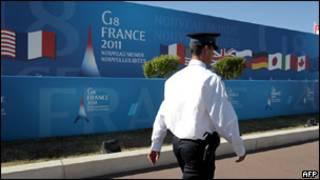 Подготовка к саммиту Большой восьмерки во Франции