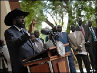Rais wa Sudan Kusini Salva Kirr