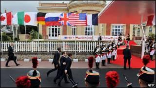 Во время саммита в Довиле