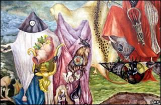 Фрагмент картины Леоноры Каррингтон