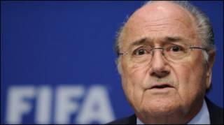 Президент ФІФА Зепп Блаттер