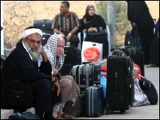 Falasdinawa masu jiran bude iyakar Gaza