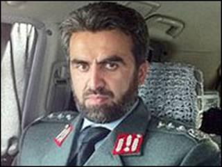Afghan police general
