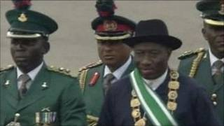 Shugaba Jonathan na Nijeriya