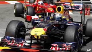 Себастьян Феттель на трассе Гран-при Монако
