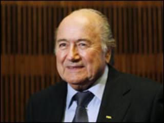 Shugaban FIFA Seff Blatter