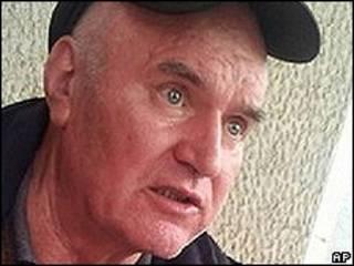 Ratko Mladic depois da prisão (AP)