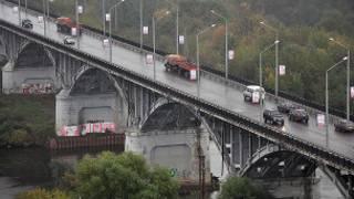Автомобильная дорога во Владимире