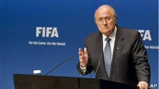 Глава ФИФА Зепп Блаттер