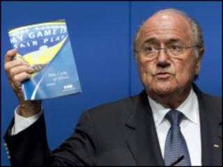 Bw. Blatter hana mpinzani
