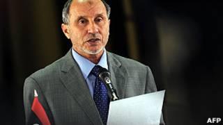 Глава Национального переходного совета Мустафа Абдель Джалиль