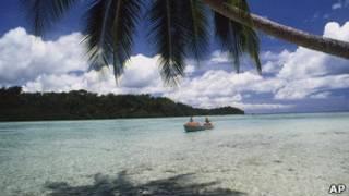 Острова в Тихом океане