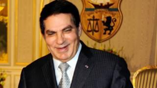 الرئيس التونسي السابق بن علي