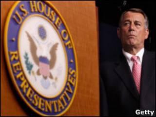 John Boehner, presidente da Câmara dos Representantes (Getty)