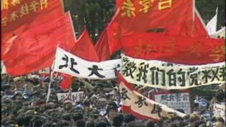 1989年学生在北京天安门广场示威
