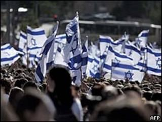 Manifestação do 'Dia de Jerusalém