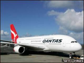 An gano beraye a jirgin Qantas