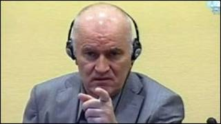 Jenderal Ratko Mladic dihadirkan di Mahkamah Kejahatan Internasional di Den Haag