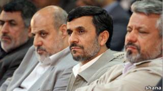 احمدی نژاد و علی آبادی