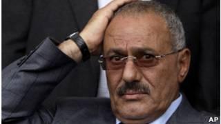 علی عبدالله صالح، رئیس جمهور یمن