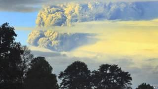 Volcán Puyehue en Chile