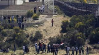 Waandamanaji mpakani mwa Syria na Israel