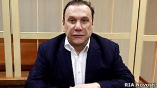 Виктор Батурин в суде
