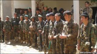 افغان سرتېري په هلمند کې