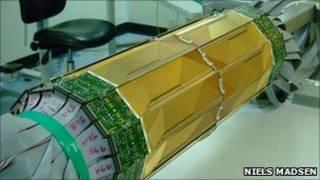Trampa magnética de antiátomos