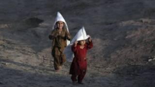 کودکان پناهنده افغان