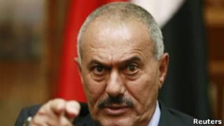 Президент Али Абдулла Салех