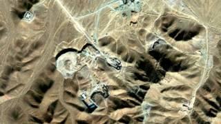 عکس ماهواره ای از تاسیسات فردو