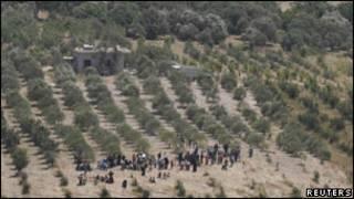 سوری ها در مرز ترکیه