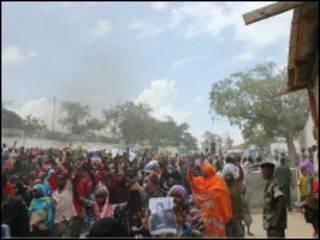 Wafuasi wa Waziri mkuu mjini Mogadishu