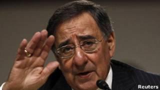Leon Panetta fala aos senadores americanos antes de confirmação
