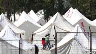 Kam pengungsi di Turki