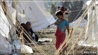 Trại tạm cho người tị nạn Syria ở Thổ Nhĩ Kỳ