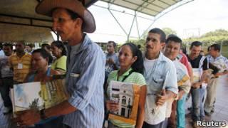 Víctimas del conflcito colombiano
