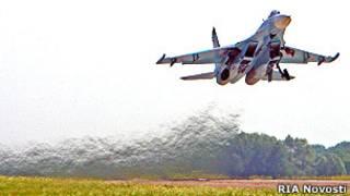 Máy bay Su-27 (hình minh họa)