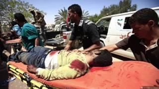 Libyan rebels in Misrata