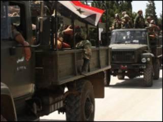 Wanajeshi wa Syria