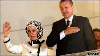 Реджеп Тайип Эрдоган с супругой