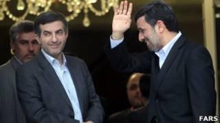 محمود احمدی نژاد و اسفندیار رحیم مشایی