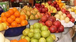 میوه جات در بازار تاجیکستان