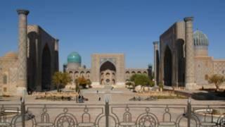 Узбекистан, город Самарканд