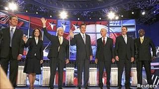 اولین مناظره انتخاباتی جمهوریخواهان آمریکا